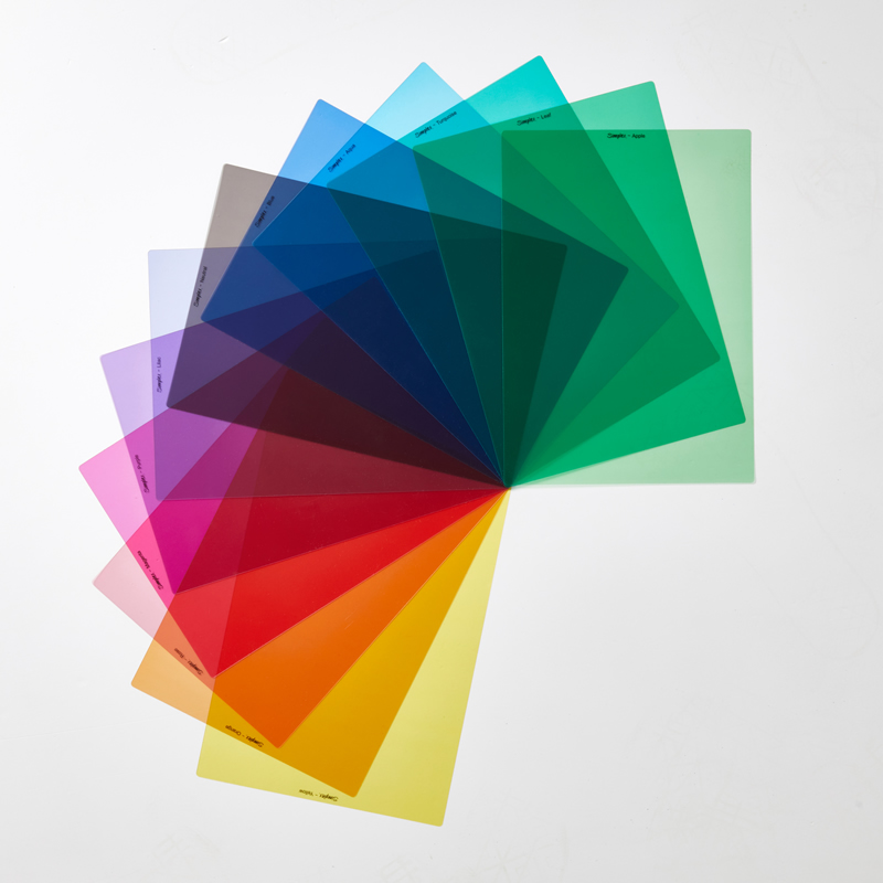 A4 One of each Colour reading aid