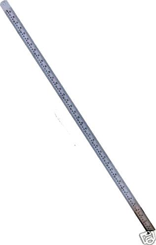 40ins 100cm Stainless Steel Ruler